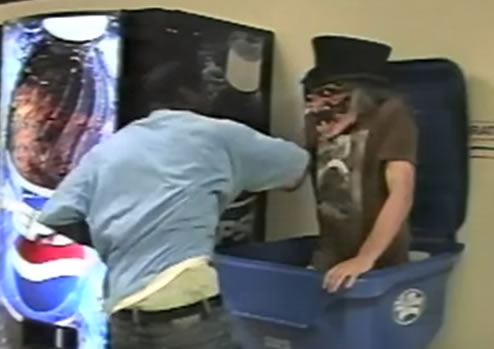 Funny halloween prank goes totally wrong at high schoo.